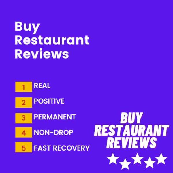Buy google reviews for restaurant
